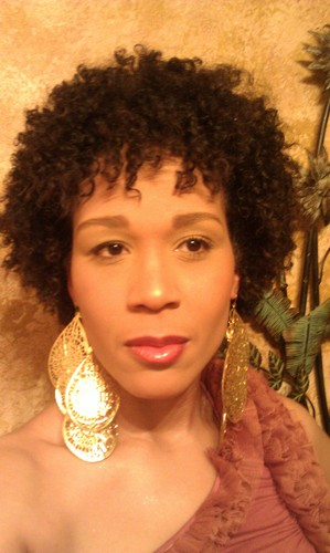 My First Twist Out Fro - Brunette, 3c, 4a, Mature hair, Short hair styles, Afro, Female, Adult hair, Twist out Hairstyle Picture