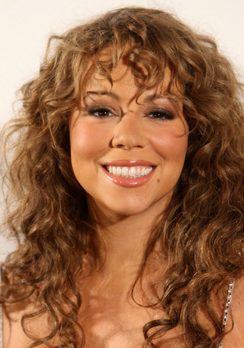 Mariah Carey - Brunette, 3a, Celebrities, Long hair styles, Styles, Female, Curly hair, Adult hair Hairstyle Picture