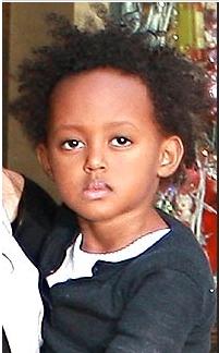 Zahara Pitt - Brunette, 3c, 4a, Celebrities, Short hair styles, Kids hair, Kinky hair, Twist hairstyles, Afro Hairstyle Picture
