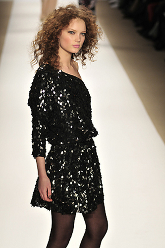 Tibi Fall 2010 - Courtesy of Run - 3a, Styles, Female, Curly hair, Adult hair, Formal hairstyles Hairstyle Picture