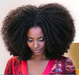 Big, beautiful, natural hair - Brunette, 3c, Medium hair styles, Kinky hair, Afro, Styles, Female, Curly hair Hairstyle Picture