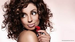 Mya - Brunette, 3b, Celebrities, Medium hair styles, Styles, Female, Curly hair, Adult hair Hairstyle Picture