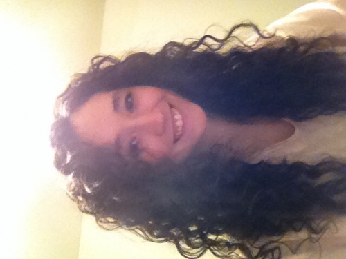 My Natural Curls - Brunette, 3a, Long hair styles, Readers, Female, Adult hair, Layered hairstyles Hairstyle Picture