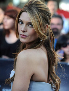 Ashley Greene - Brunette, Blonde, Celebrities, Wavy hair, Long hair styles Hairstyle Picture