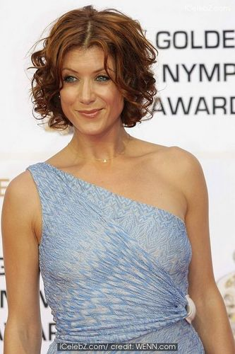 Kate Walsh - Redhead, Celebrities, Wavy hair, Short hair styles, Female, Curly hair, 2c Hairstyle Picture