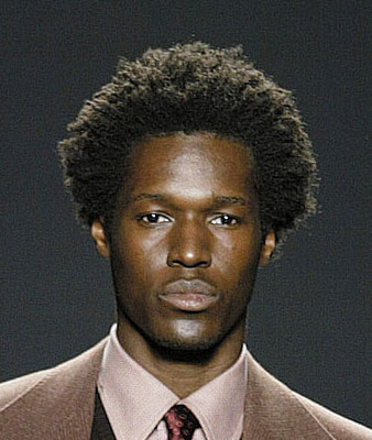 Natural Chic - Brunette, 4b, Male, Short hair styles, Afro, Styles Hairstyle Picture