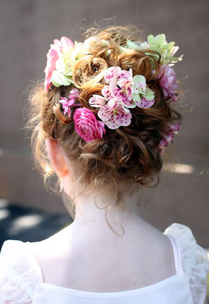 Wedding5.jpg - Blonde, 3a, Short hair styles, Kids hair, Updos, Wedding hairstyles, Summer hair, Styles, Curly hair Hairstyle Picture