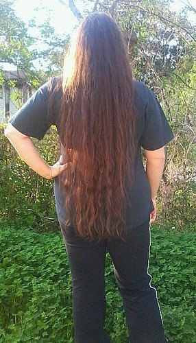 My long ringlets and waves - Brunette, 2b, Long hair styles, Readers, Female, Adult hair Hairstyle Picture
