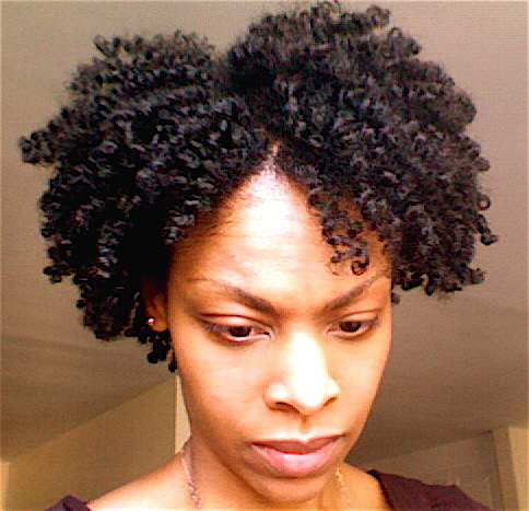 Double Strand Twist-Out - 4b, Short hair styles, Readers, Styles, Female, Black hair, Adult hair, Twist out Hairstyle Picture
