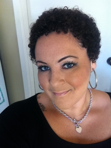 Wash and Go - 3c, Very short hair styles, Short hair styles, Kinky hair, Female, Black hair, Adult hair, Teeny weeny afro Hairstyle Picture