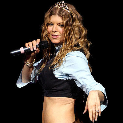 Fergie, singer - Blonde, 3a, Celebrities, Long hair styles, Female Hairstyle Picture