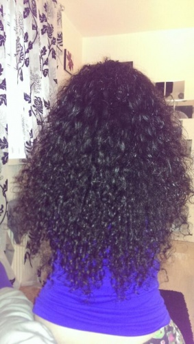 natural curls - Medium hair styles, Long hair styles, Twist hairstyles, Female, Curly hair, Makeovers, Braid out, Curly kinky hair Hairstyle Picture