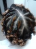 Best flat twist out I ever did on someone else