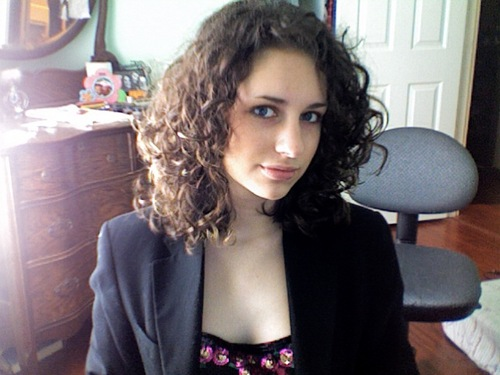 Those curls of mine - Brunette, 3a, Medium hair styles, Readers, Female, Teen hair Hairstyle Picture