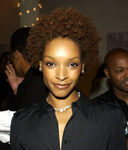 Janine Green - Brunette, 4a, Celebrities, Short hair styles, Afro, Female Hairstyle Picture