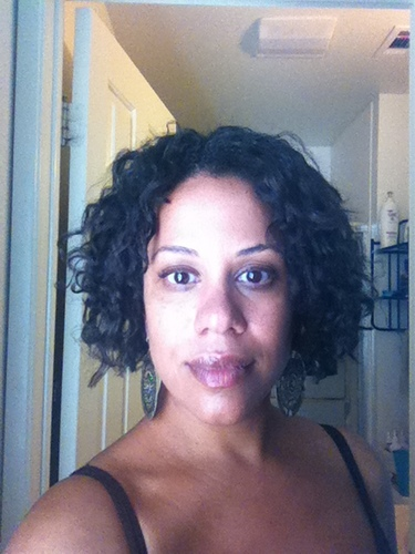 1st Deva Curl Cut!! - Brunette, 3c, Short hair styles, Readers, Adult hair, Bob hairstyles Hairstyle Picture