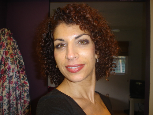 Just back from a trim - Brunette, 3c, Medium hair styles, Styles, Female, Curly hair, Adult hair, Spiral curls Hairstyle Picture