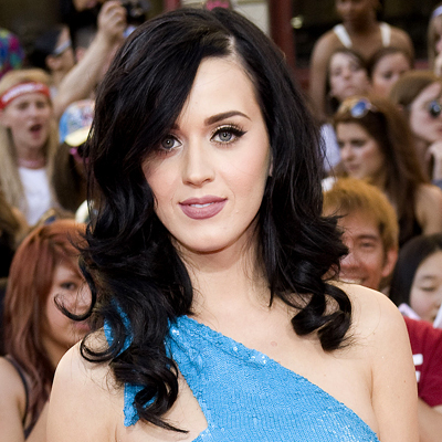 Katy Perry - Celebrities, Wavy hair, Long hair styles, Female, Curly hair, Black hair Hairstyle Picture