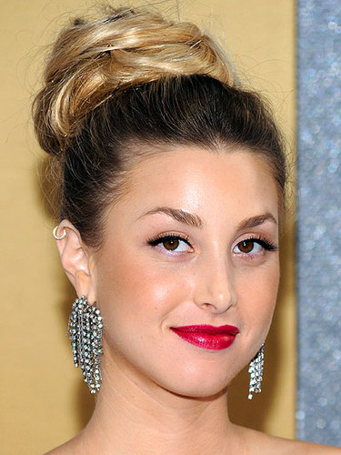 Whitney Port - Blonde, Celebrities, Wavy hair, Long hair styles, Female, Buns Hairstyle Picture