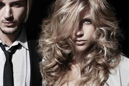 KMS - Blonde, 2b, Wavy hair, Long hair styles, Styles, Female, Curly hair Hairstyle Picture