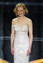 Nicole Kidman - Redhead, Blonde, 3a, Celebrities, Medium hair styles, Updos, Female, 2009 Academy Awards Hairstyle Picture