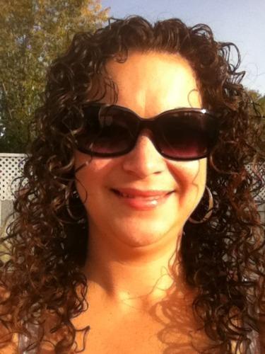 My natural hair - Brunette, 3b, Medium hair styles, Readers, Female, Adult hair Hairstyle Picture