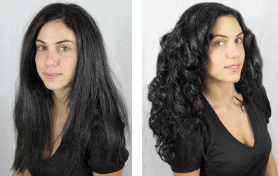 Curl Junkie Makeover: Jen - Long hair styles, Female, Curly hair, Makeovers, Black hair Hairstyle Picture
