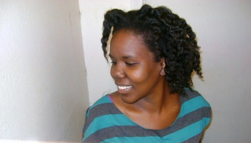 My twist out - Brunette, 4a, Medium hair styles, Kinky hair, Readers, Twist out Hairstyle Picture