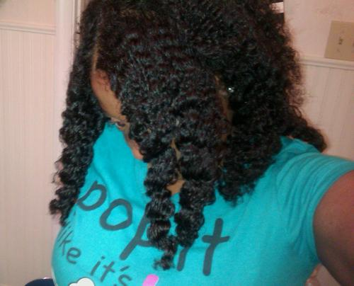 Chunky Twist Out! - 3c, Kinky hair, Long hair styles, Readers, Female, Twist out, Curly kinky hair, Natural Hair Celebration Hairstyle Picture