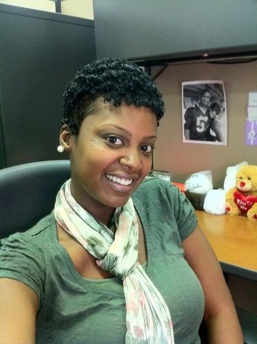 Elasta QP Soft as Silk Gel - Short hair styles, Readers, Female, Curly hair, Black hair, Adult hair Hairstyle Picture