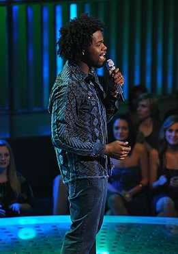 American Idol: Steven Fowler - Brunette, 3c, 4a, Celebrities, Male, Short hair styles, Kinky hair, Afro Hairstyle Picture