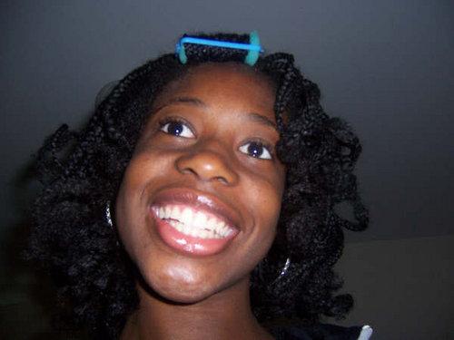 My Curly Braids - 4b, Medium hair styles, Kinky hair, Braids, Readers, Styles, Female, Curly hair, Teen hair, Black hair, Curly kinky hair Hairstyle Picture