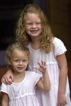 Sisters.jpg - Blonde, 3b, 3a, Short hair styles, Kids hair, Long hair styles, Styles, Curly hair Hairstyle Picture