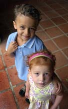 Siblings1.jpg - Redhead, Brunette, 3b, Short hair styles, Kids hair, Styles, Curly hair Hairstyle Picture