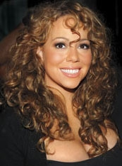 Mariah Carey - Brunette, Celebrities, Long hair styles, Female, Curly hair, Adult hair Hairstyle Picture