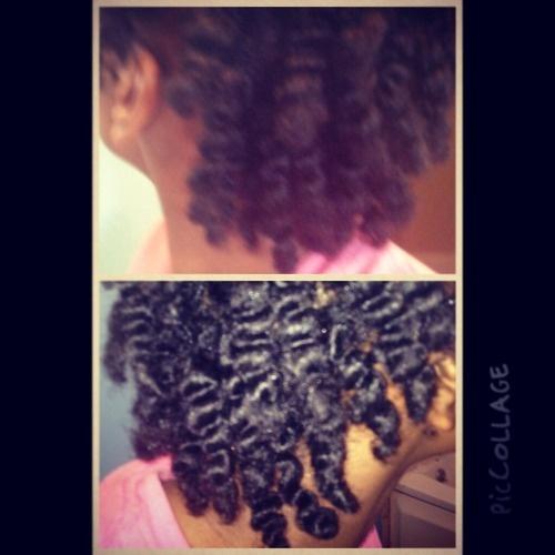 My first twist out - 4b, Medium hair styles, Black hair, Twist out, Curly kinky hair Hairstyle Picture