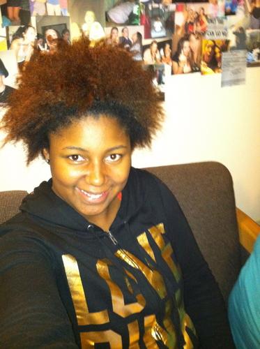 wild woman - Brunette, Blonde, 4a, 4b, Medium hair styles, Teen hair, Black hair, Adult hair, Braid out Hairstyle Picture
