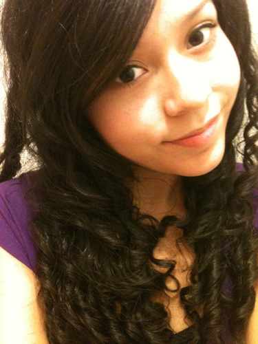 Me and my curls- 2011-20 - Brunette, 3b, 3a, Long hair styles, Readers, Female, Teen hair Hairstyle Picture