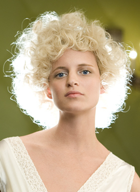 Bumble and bumble - Blonde, 3a, Short hair styles, Styles, Female, Curly hair, 2c Hairstyle Picture