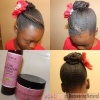 Flat Twist Threaded Bun