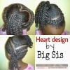 Valentine Twists in Heart shape