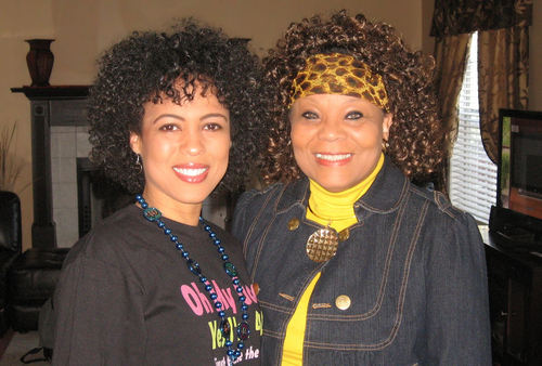 Me and my mom's curls - 3c, Mature hair, Short hair styles, Kinky hair, Female, Curly hair Hairstyle Picture