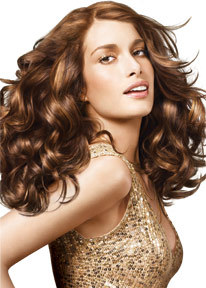 Matrix - Brunette, Blonde, 2b, Medium hair styles, Styles, Female, Curly hair Hairstyle Picture