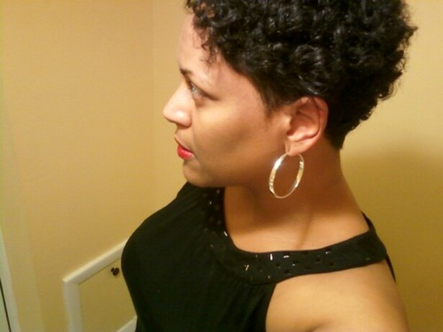 Growing out my curls... - 3b, 3c, Very short hair styles, Short hair styles, Readers, Styles, Female, Curly hair, Black hair, Adult hair, Bob hairstyles Hairstyle Picture