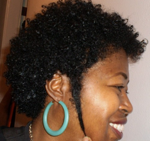 This is my 6 month 1 week curly  - Short hair styles, Kinky hair, Readers, Female, Black hair Hairstyle Picture