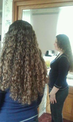 LL hair type - Brunette, Medium hair styles, Long hair styles, Female, Adult hair Hairstyle Picture