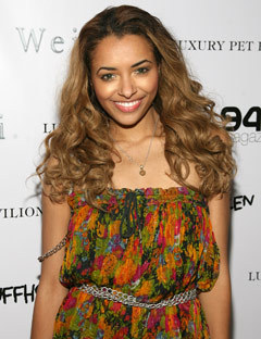 Katerina Graham - Blonde, Celebrities, Kinky hair, Long hair styles Hairstyle Picture
