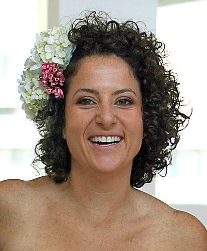 So Happy! - Brunette, 3b, Medium hair styles, Wedding hairstyles, Summer hair, Styles, Female, Curly hair Hairstyle Picture
