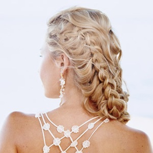 Romantic Braid - 2a, Blonde, 2b, Wavy hair, Long hair styles, Braids, Wedding hairstyles, Styles, Special occasion, Female Hairstyle Picture