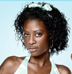 Tiffany, America's Top Model - Brunette, 3c, Celebrities, Kinky hair, Female Hairstyle Picture